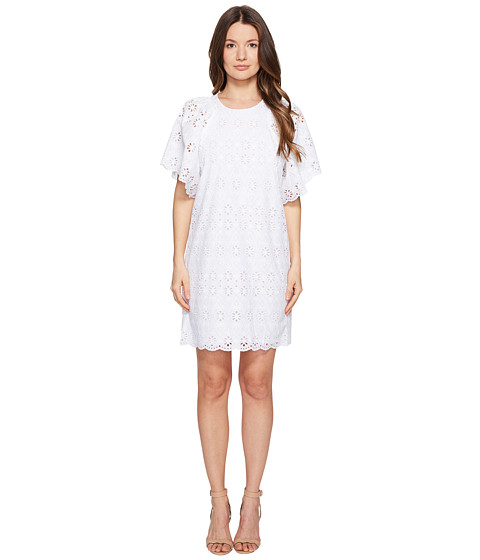Kate Spade New York Spice Things Up Eyelet Shift Dress