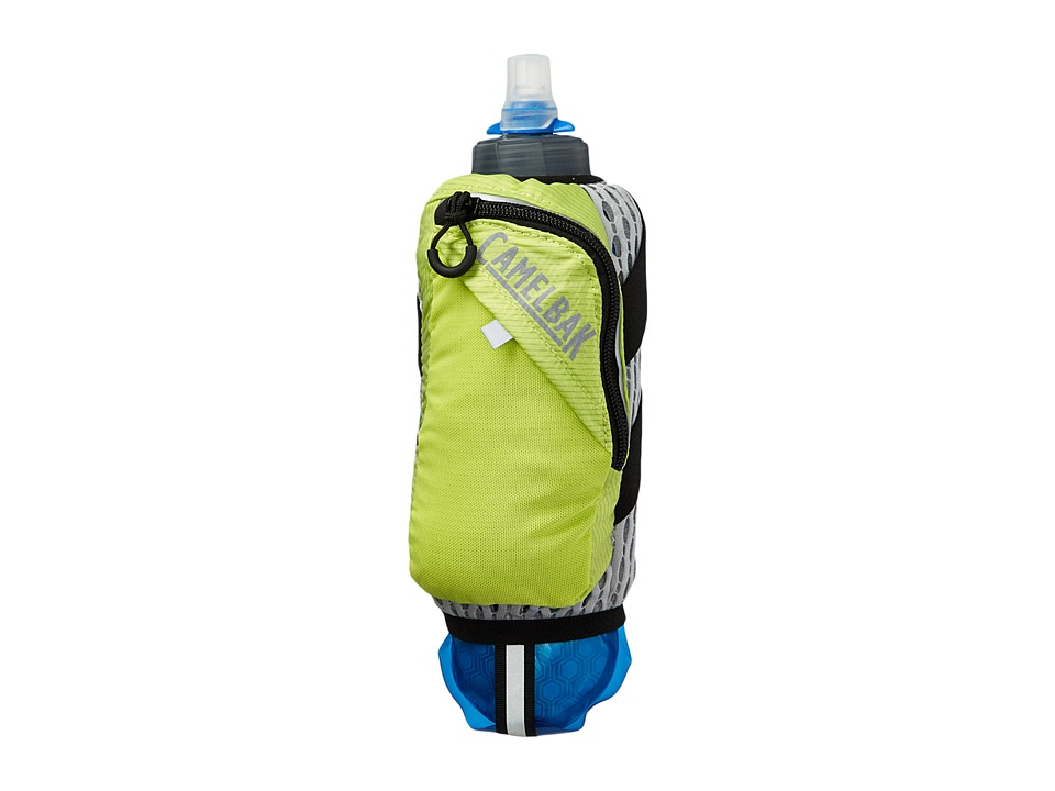 CamelBak Ultra Handheld Chill 17 oz Quick Stow Flask (Lime Punch/Black) Backpack Bags