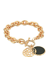 GUESS - Double Strand Toggle Bracelet with Jet Disc