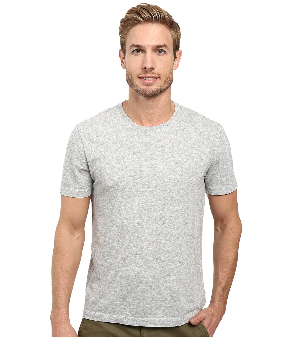 Image of Agave Denim - Agave Supima Crew Neck Short Sleeve Tee (Heather) Men's T Shirt