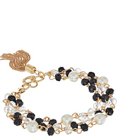 GUESS - Triple Strand Rosary Bead Bracelet