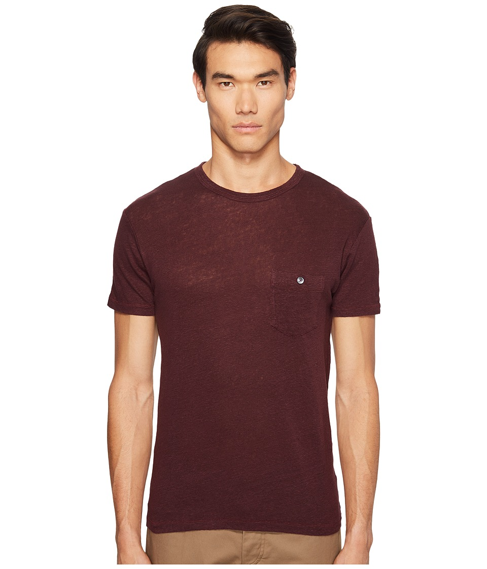 Todd Snyder - Linen Jersey Classic Button Pocket T