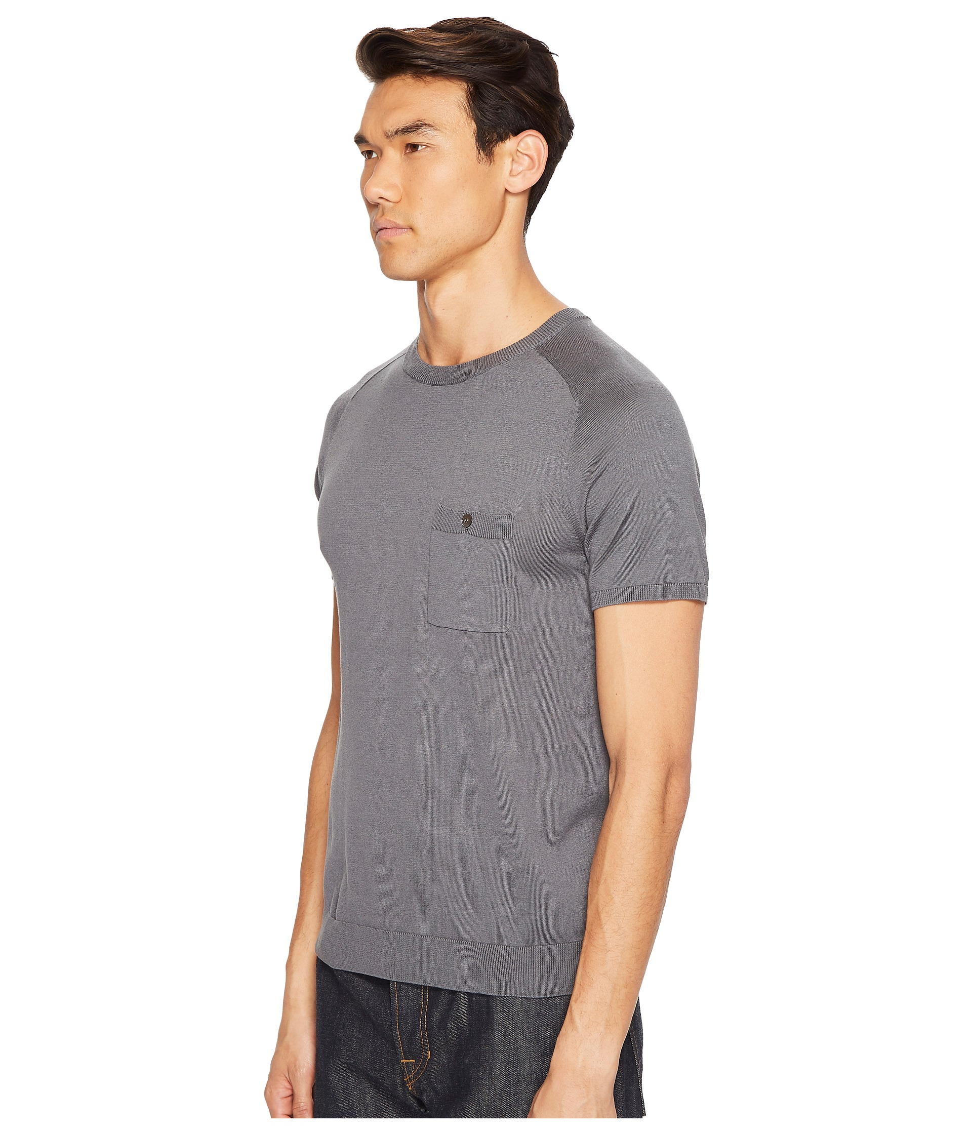 Todd snyder cotton silk t shirt sweater at for Cotton silk tee shirts