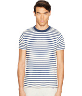 Todd Snyder - Short Sleeve Striped Shore Crew Sweatshirt