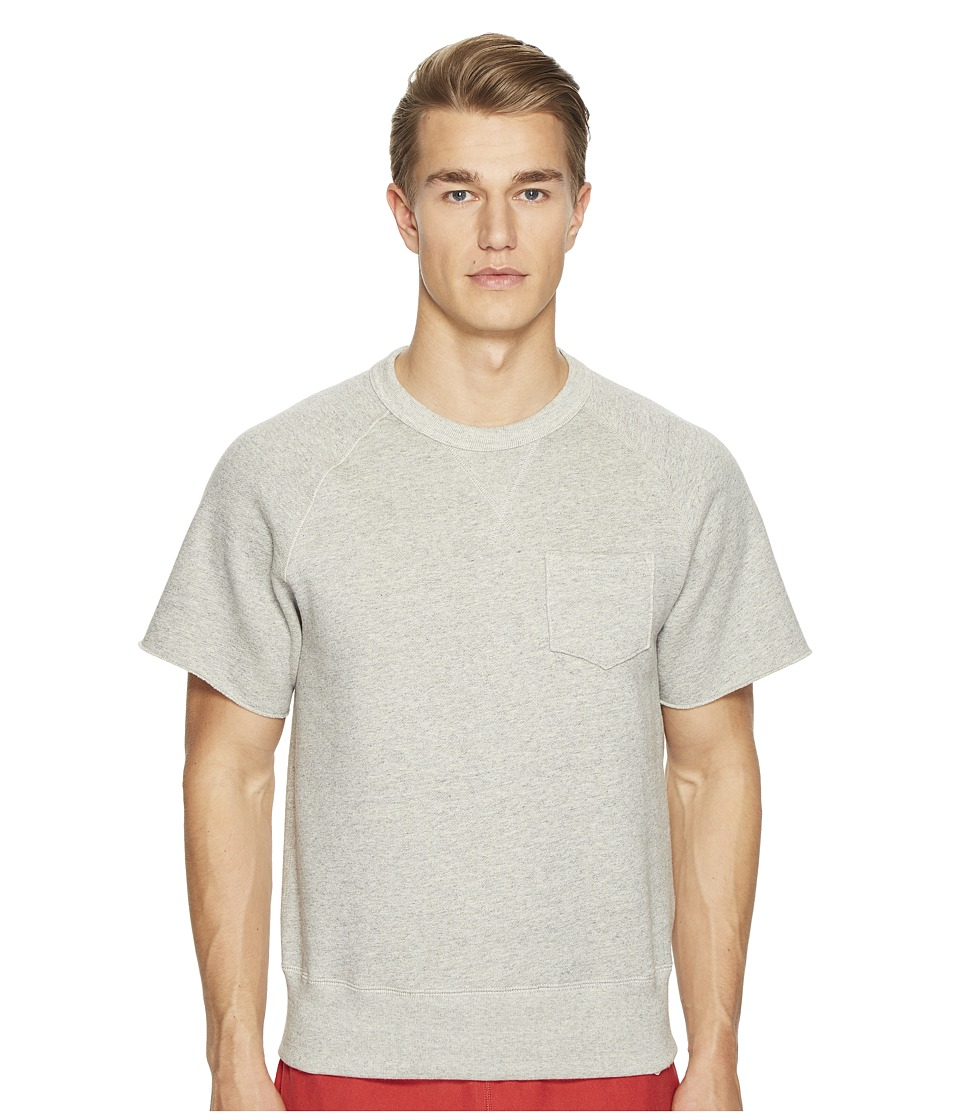 Todd Snyder + Champion - Short Sleeve Cut Off Sweatshirt Fleece