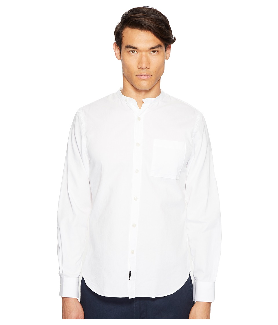Todd Snyder - Popover Band Collar Shirt w/ Pocket