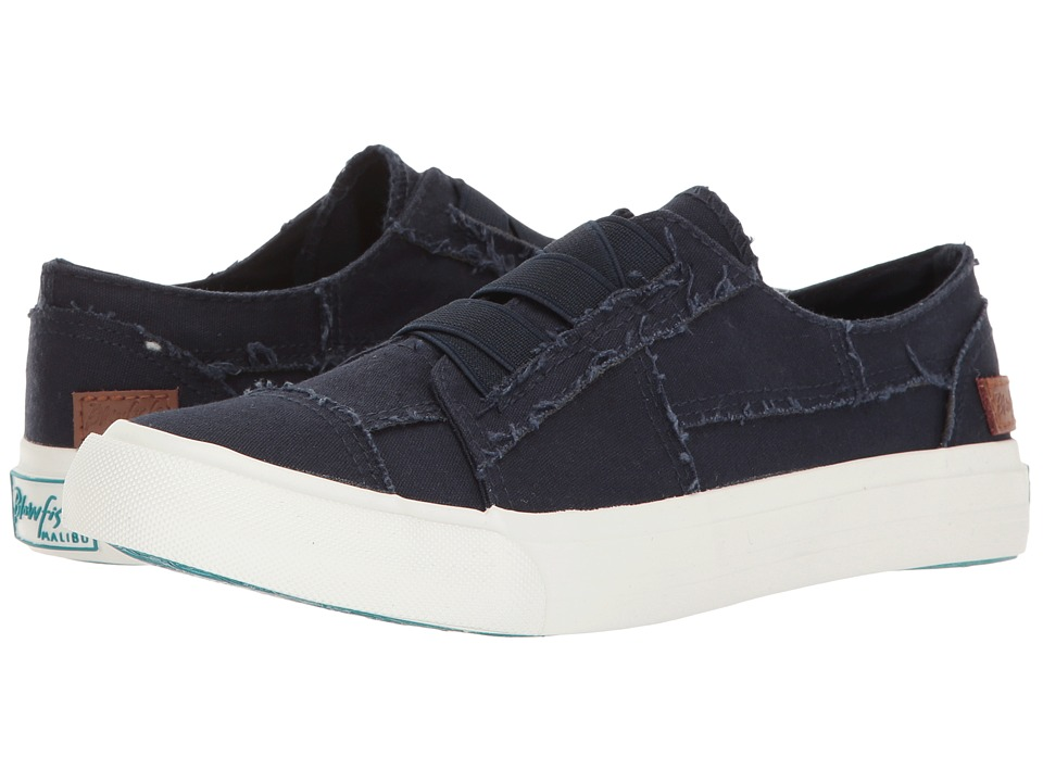 Blowfish Marley (Navy Color Washed Canvas) Women