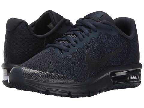 Nike Kids Air Max Sequent 2 (Big Kid) - Obsidian/Dark Obsidian/Midnight Navy