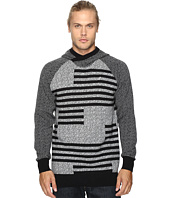 Staple - Check Jacquard Hooded Sweater