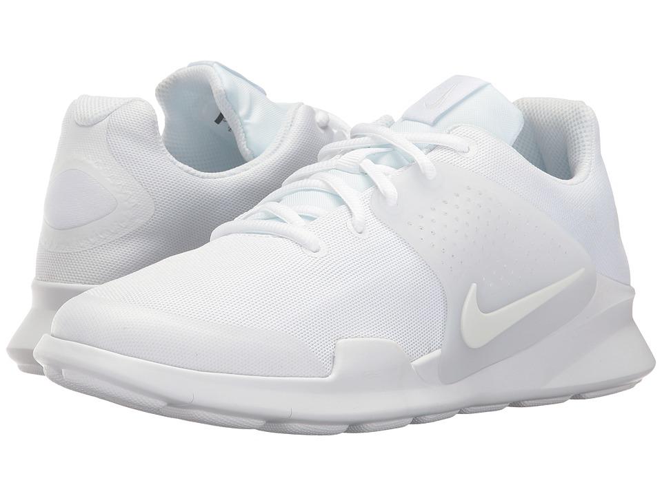 Nike Kids Criterion (Big Kid) (White/White/Racer Pink) Boys Shoes