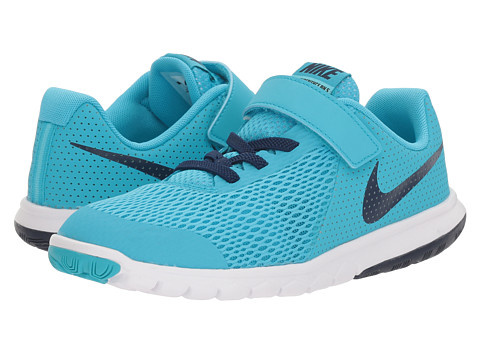 Nike Kids Flex Experience 5 (Little Kid) - Chlorine Blue/Binary Blue/Polarized Blue