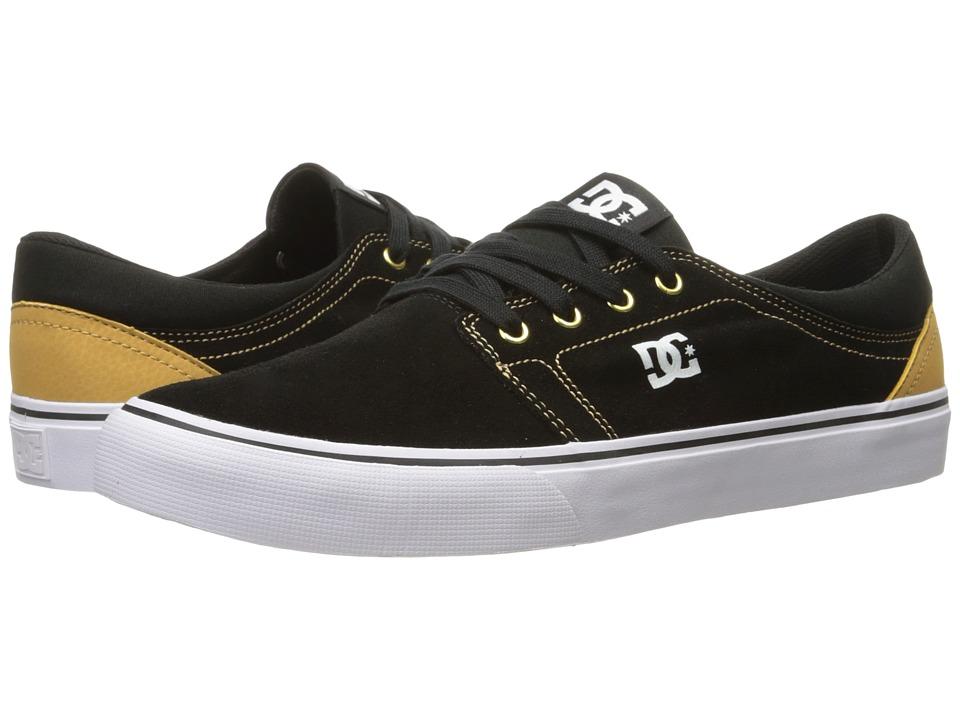 DC Trase SD (Black/Camel) Skate Shoes
