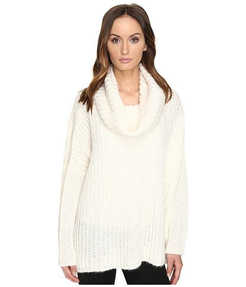 Manila Grace Drape Neck Sweater