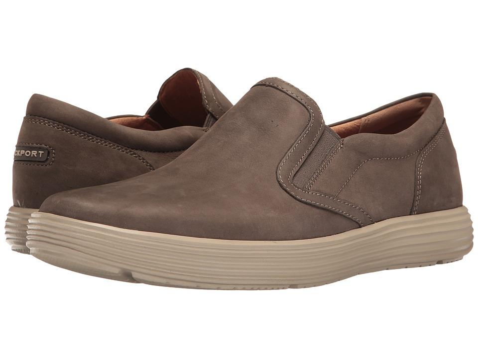 Rockport - Thurston Gore Slip-On (Dark Grey Nubuck) Mens Shoes