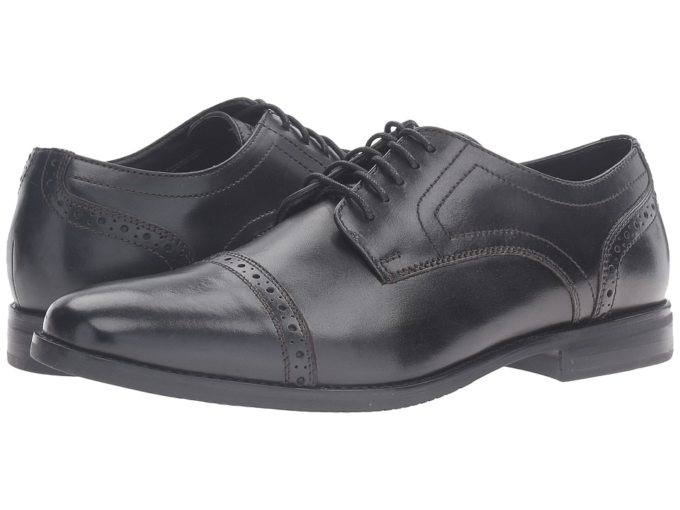 Rockport - Style Purpose Cap Toe (Black) Mens Shoes