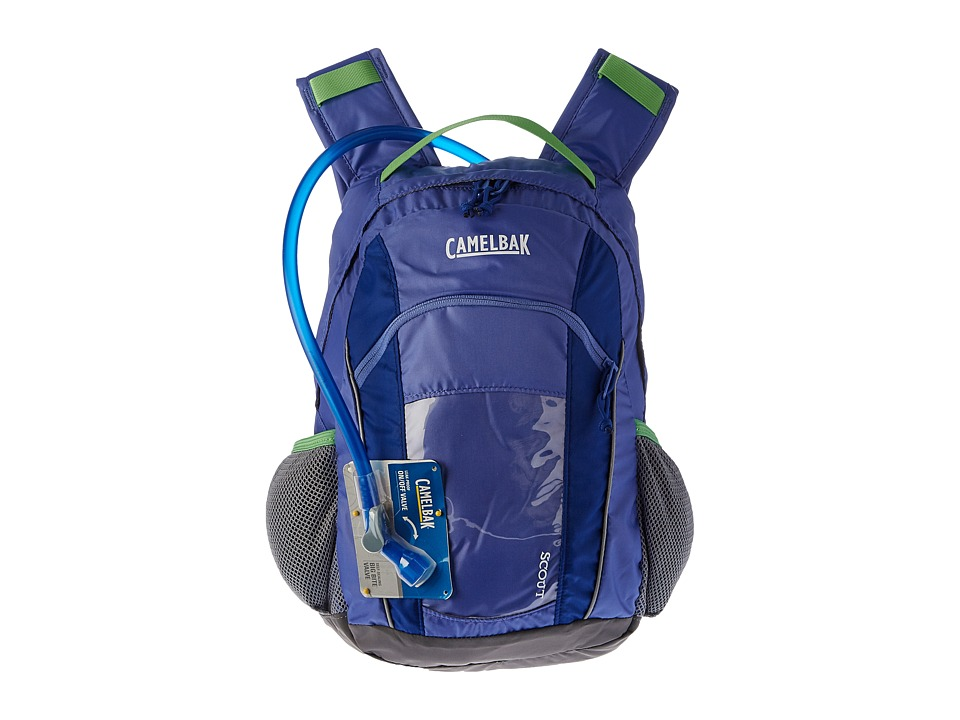 CamelBak - Scout 50 oz. (Youth) (Periwinkle/Sapphire) Backpack Bags