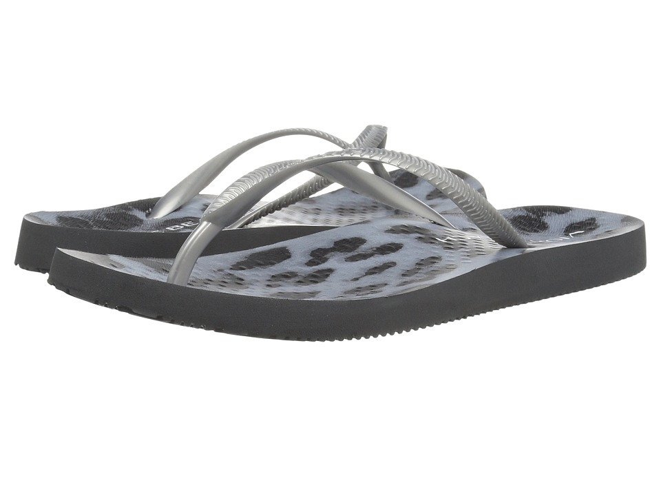 VIONIC Beach Noosa (Black Cheetah/Silver) Women