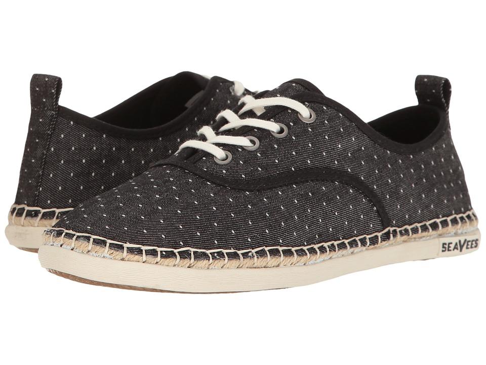 SeaVees 07/60 Sorrento Sand Shoe (Black) Women