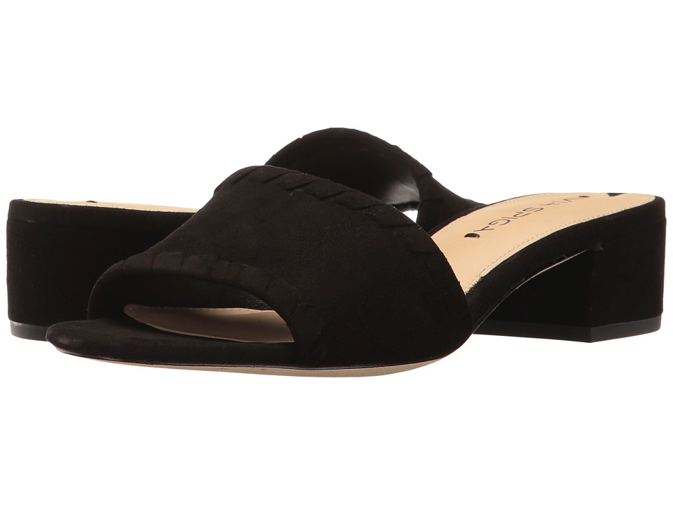 Via Spiga Gwendolyn (Black Suede) Women