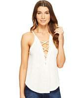 LNA - Lace-Up Bib Tank Top