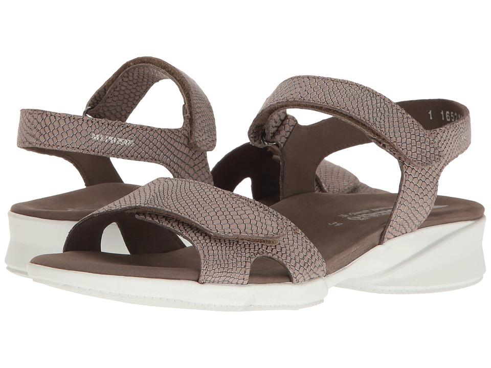 Mephisto Francesca (Dark Taupe Python) Women's Sandals