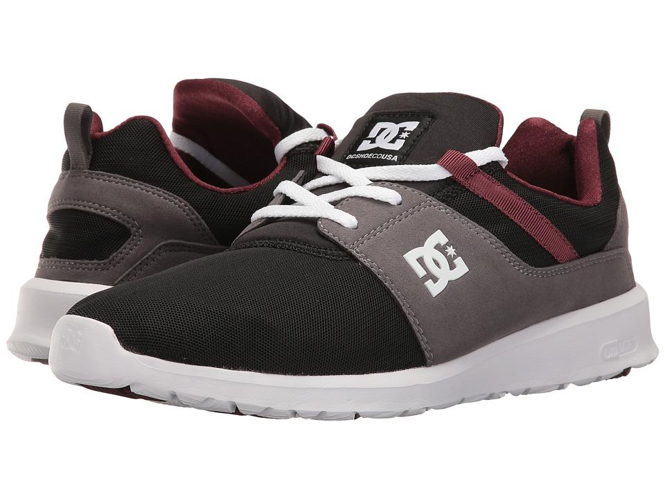DC Heathrow (Armor/Oxblood) Skate Shoes