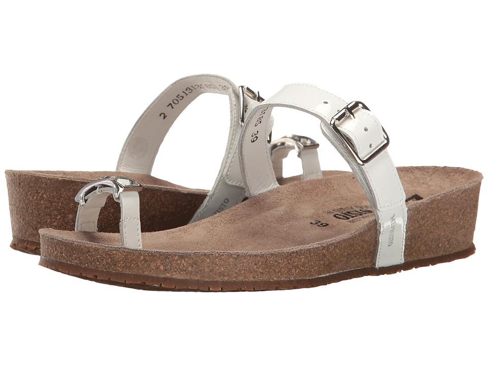 Mephisto - Ilaria (White Patent) Women's Sandals