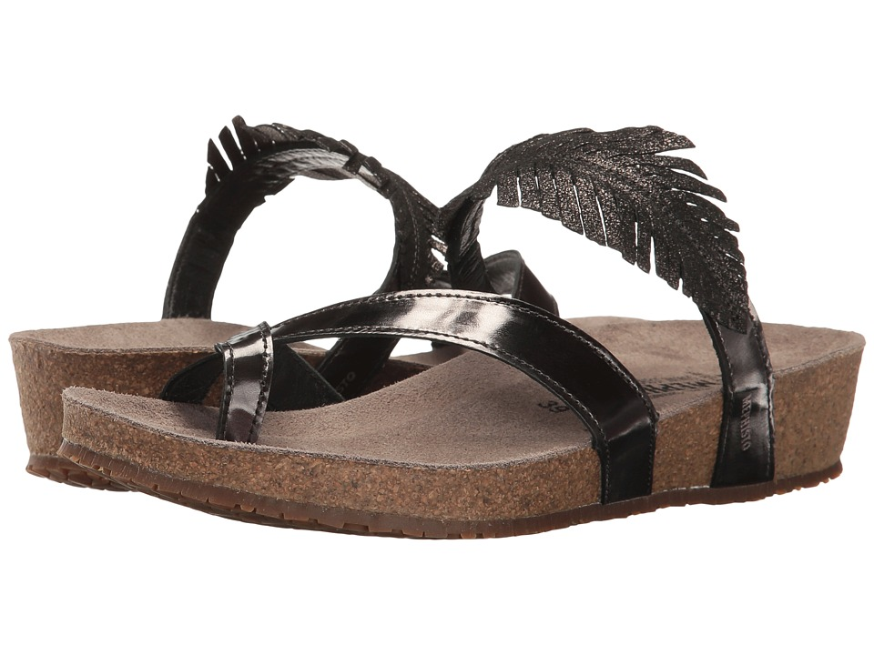 Mephisto - Immy (Dark Grey Magic/Black Fashion) Women's Sandals