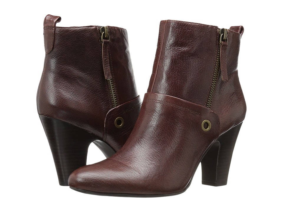 Nine West Gowithit (Brown Leather) Women