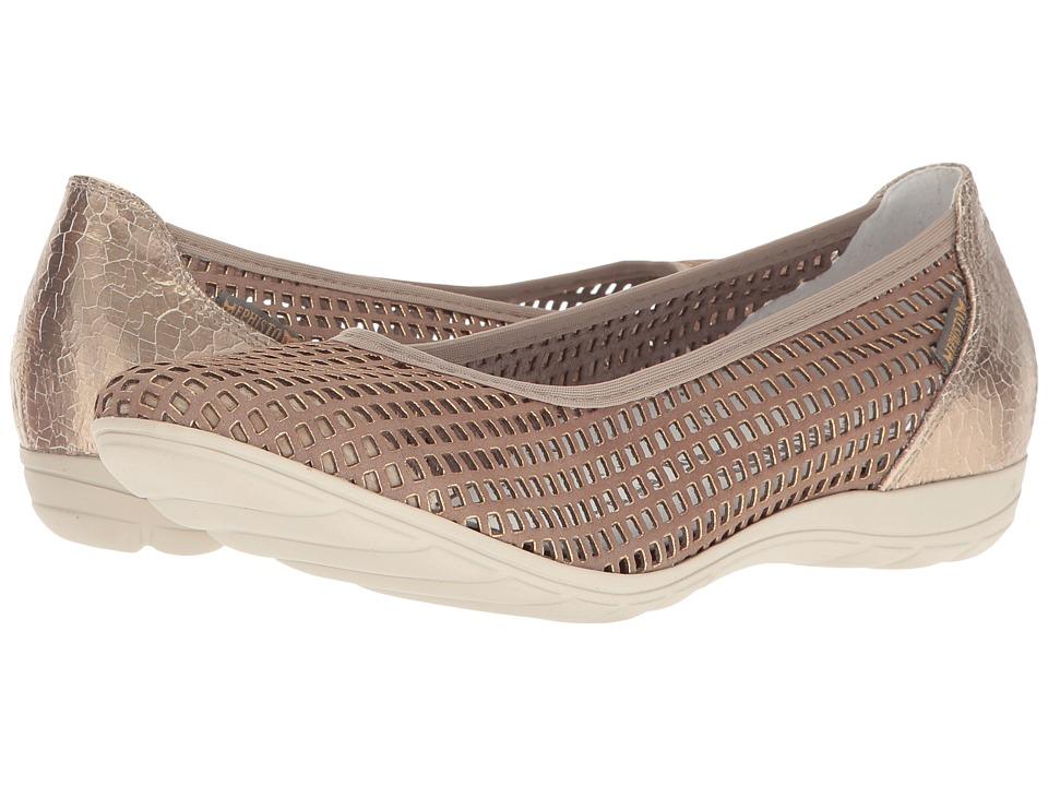 Mephisto Evelyne (Taupe Window/Platinum Ice) Women's Shoes
