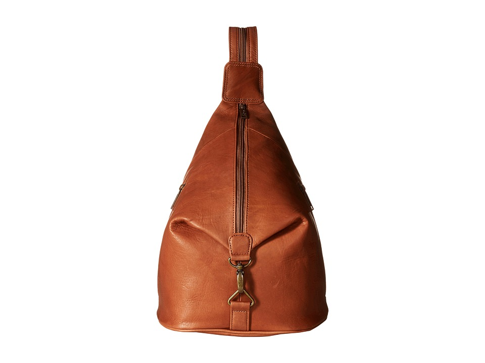 Scully Noah Travel Sling Backpack (Tan) Backpack Bags