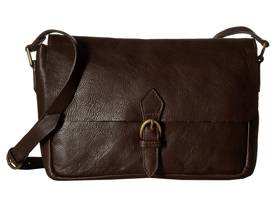 Scully - Catalina Messenger Bag (Brown) Messenger Bags
