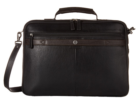 Scully Aaron Workbag Brief - Black/Brown