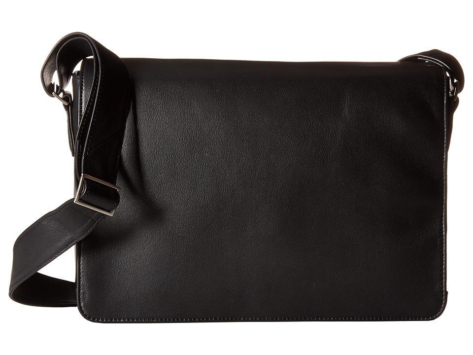 Scully - Avery Messenger Bag (Black) Messenger Bags