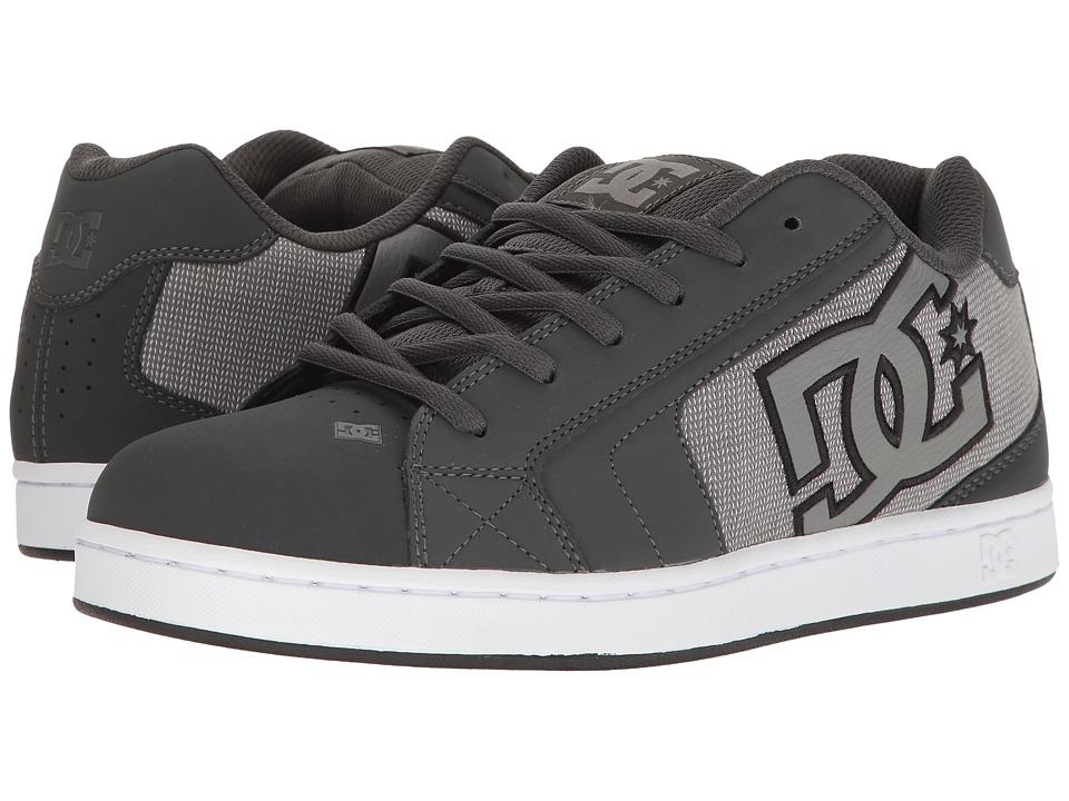 DC - Net SE (Grey/Ash) Mens Skate Shoes