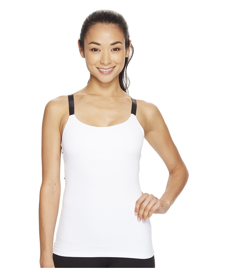Beyond Yoga Live Free or Tie Hard Tank Top (White) Women