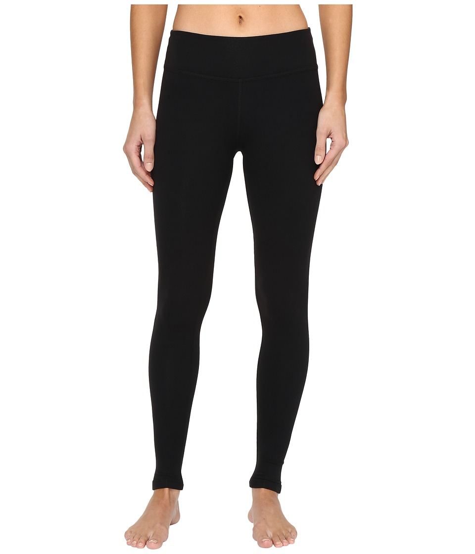 Beyond Yoga - Essential Long Legging (Jet Black) Womens Workout