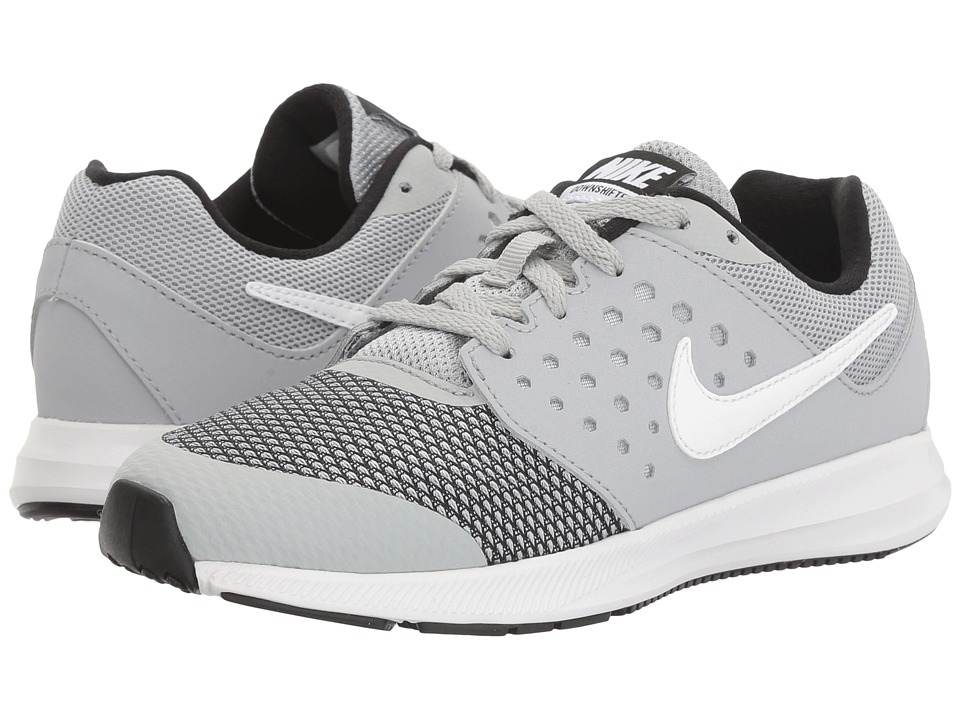 Nike Kids Downshifter 7 (Little Kid) (Wolf Grey/White/Black) Boys Shoes