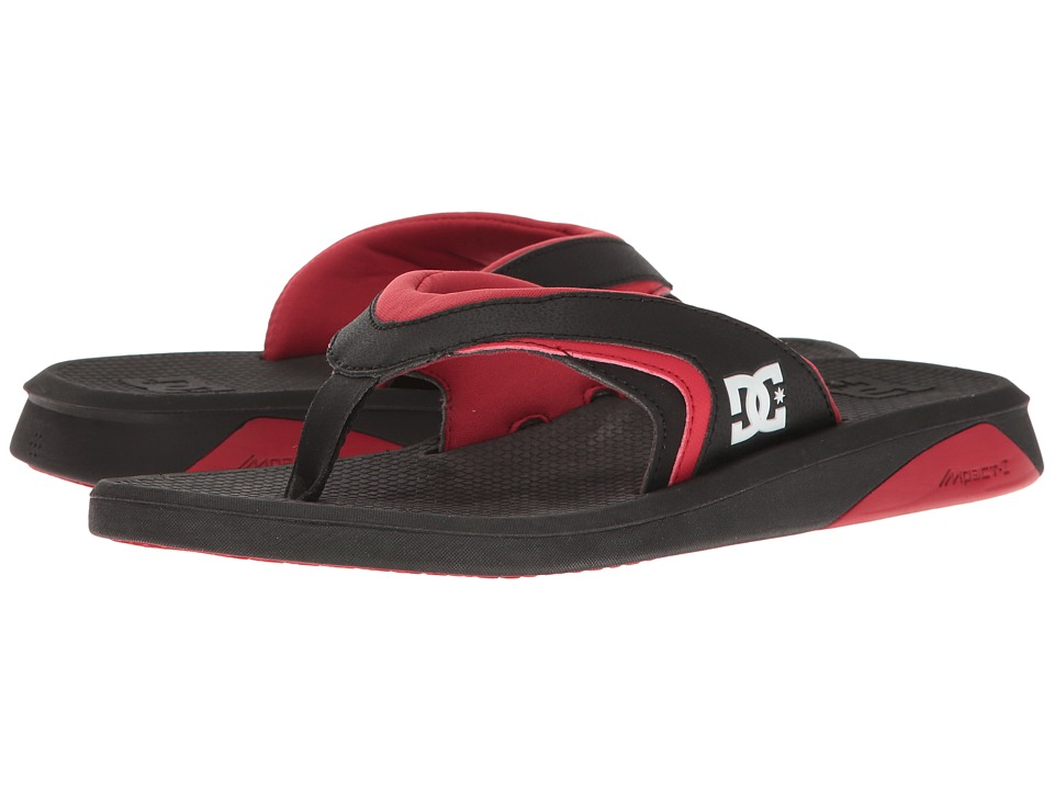 DC Recoil By Bruce Irons (Black/Black/Red) Men