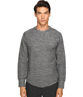 Todd Snyder - Heather Double Knit Long Sleeve
