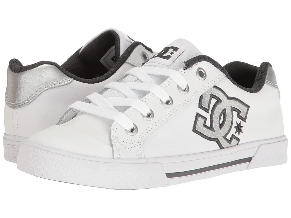 DC - Chelsea SE W (White/Grey/Grey) Womens Skate Shoes