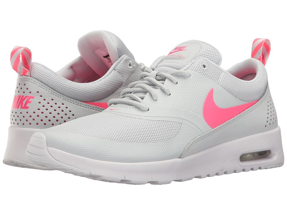 Nike Kids Air Max Thea (Big Kid) (Pure Platinum/Racer Pink/White) Girls Shoes