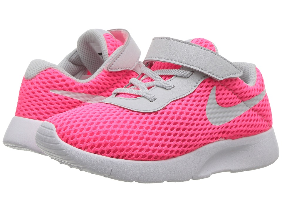 Nike Kids Tanjun BR HL (Infant/Toddler) (Racer Pink/Pure Platinum/White) Girls Shoes
