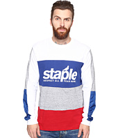 Staple - Blue Long Sleeve Tee