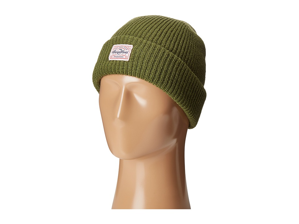 Image of Benny Gold - Anti-Work Beanie (Army Green) Beanies
