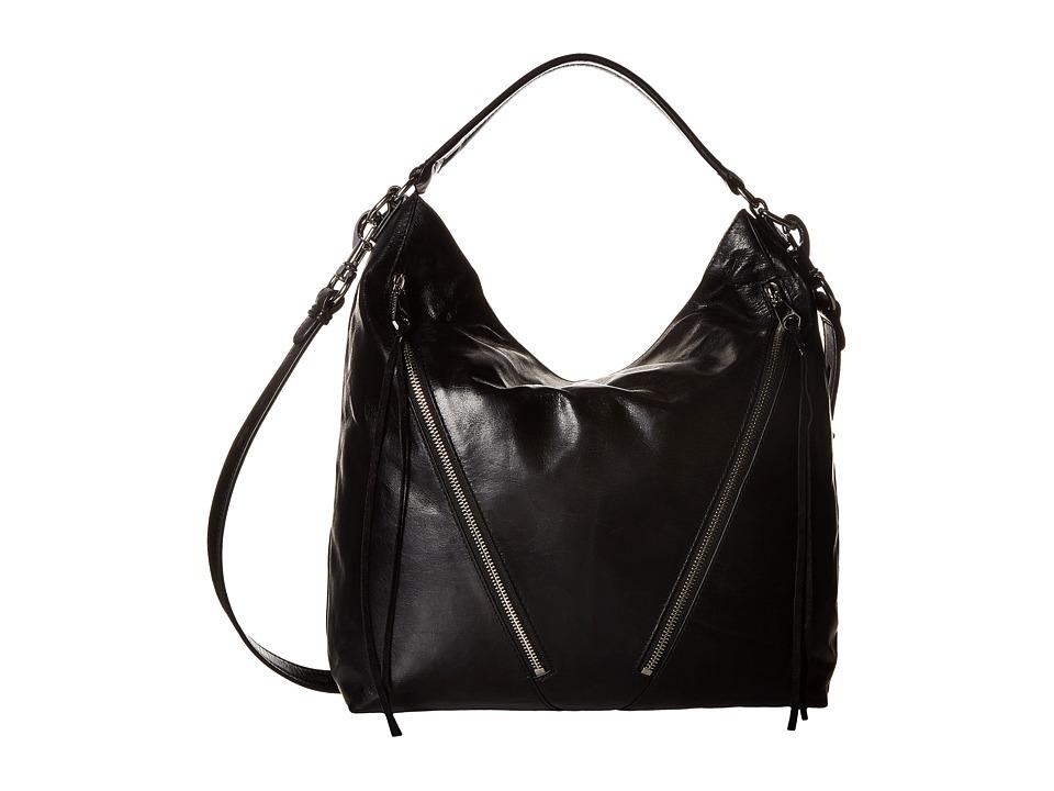 Rebecca Minkoff - Moto Hobo (Black 2) Hobo Handbags