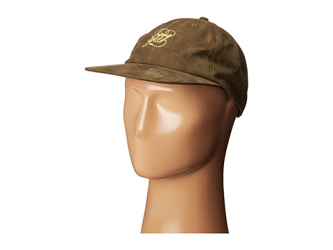 Benny Gold Script Sueded Polo Hat