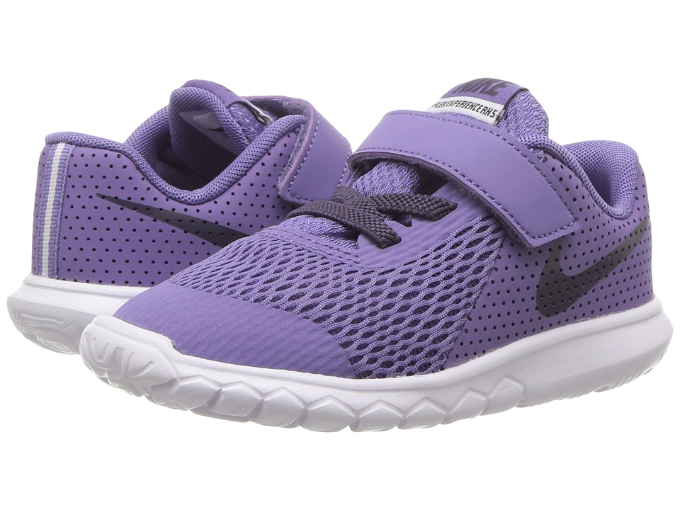 Nike Kids Flex Experience 5 (Infant/Toddler) (Purple Earth/Dark Raisin/White) Girls Shoes