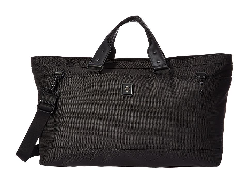 Victorinox - Lexicon 2.0 Weekender Deluxe Carryall Tote (Black) Weekender/Overnight Luggage