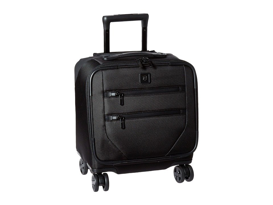 Victorinox - Lexicon 2.0 Dual-Caster Boarding Tote (Black) Weekender/Overnight Luggage
